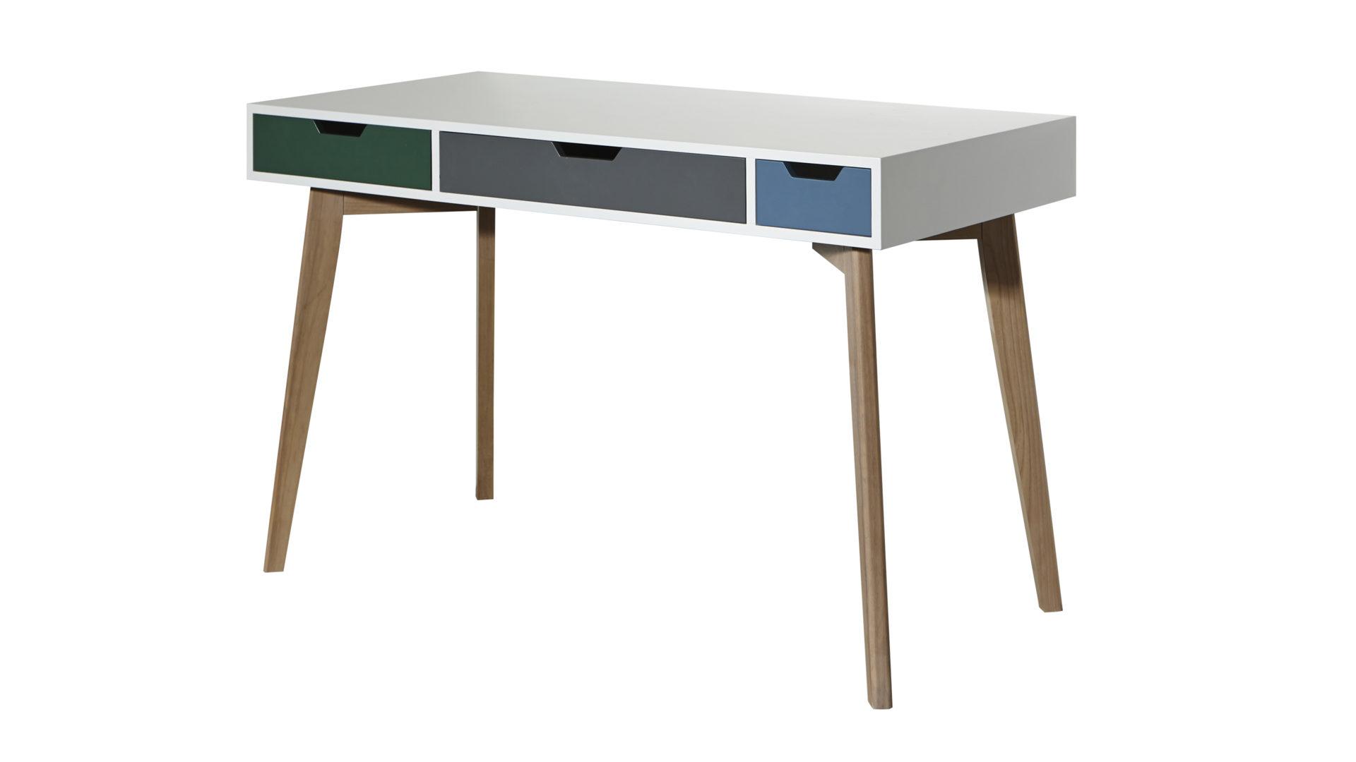 Schreibtisch holz weiß  Hertel Möbel Gesees | Räume | Arbeitszimmer | Schreibtische ...
