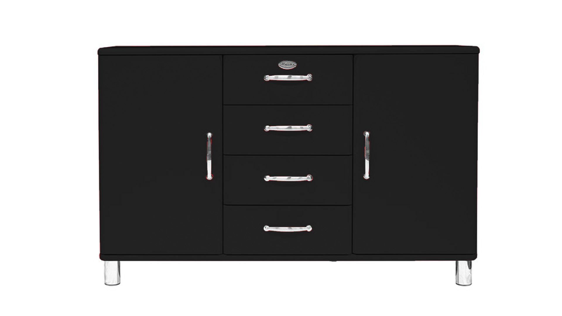 Künstlerisch Schwarze Möbel Ideen Von Sideboard. Lackoberflächen