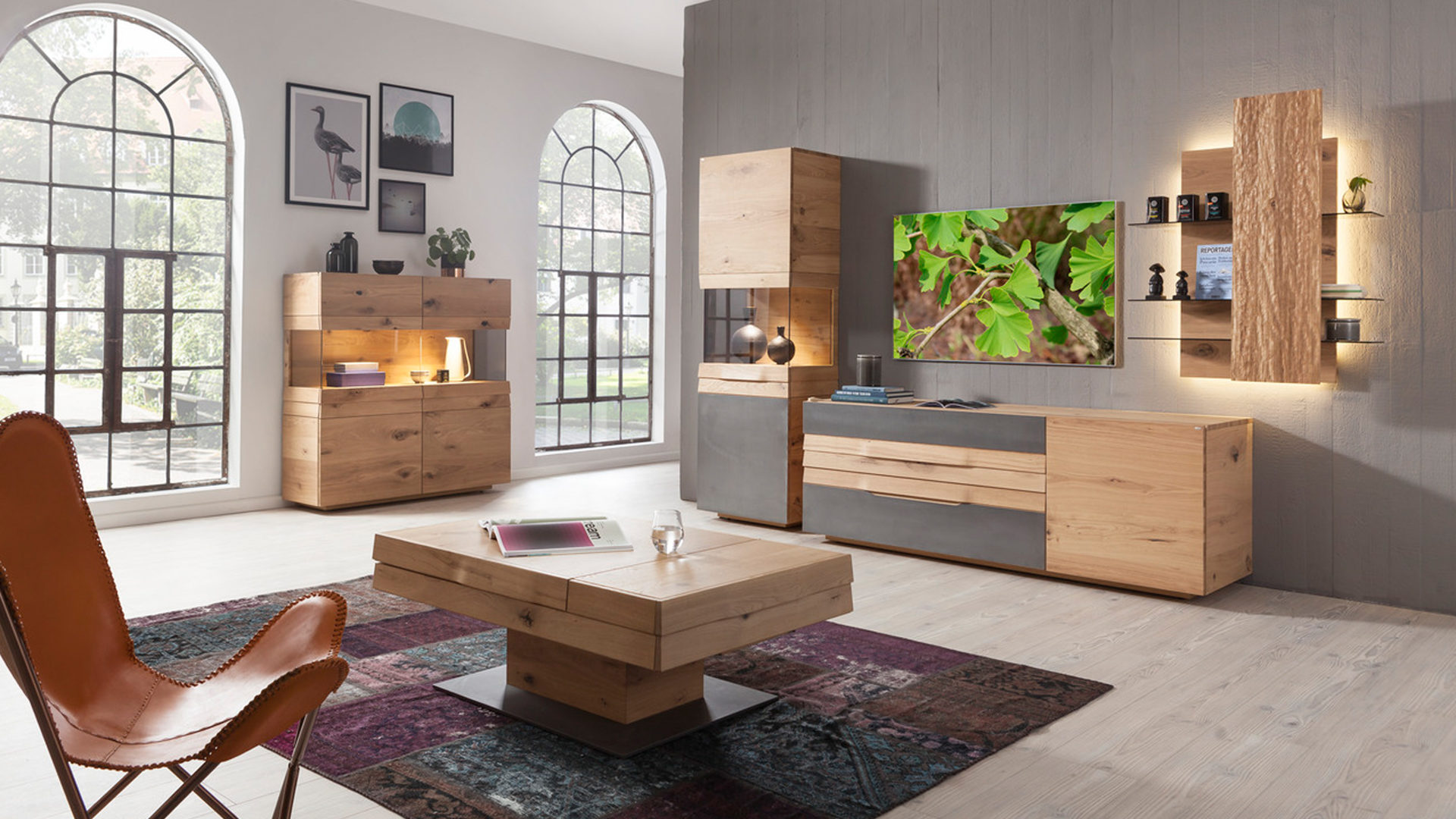 Hertel Möbel e.K. Gesees, Räume, Wohnzimmer, Couchtisch ...