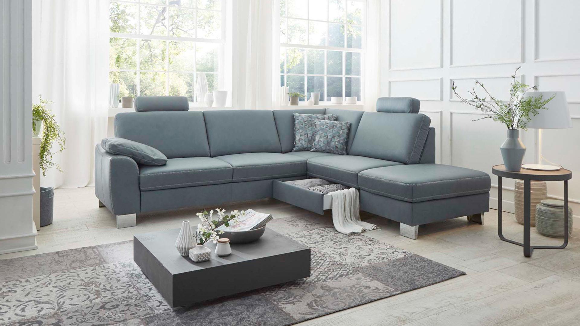 Polstermöbel leder günstig  Hertel Möbel e.K. Gesees, Räume, Wohnzimmer, Sofas + Couches ...