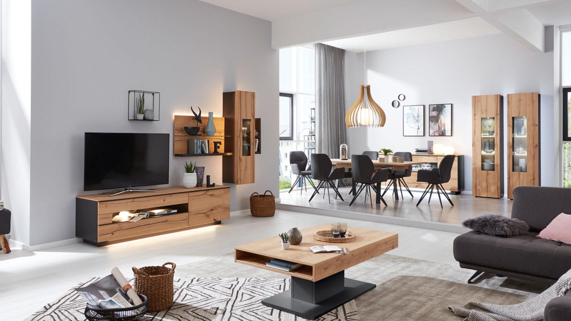 Hertel Möbel e.K. Gesees, Räume, Wohnzimmer, Schränke + Wohnwände ...