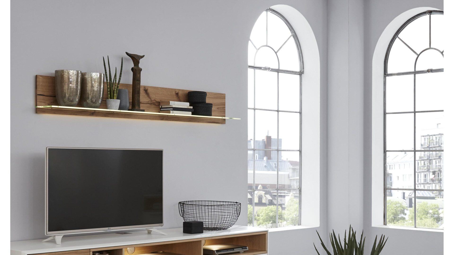 hertel mobel e k gesees markenshops wohnzimmer interliving interliving wohnzimmer serie 2102 wandregal helles asteiche furnier lange ca 176 cm