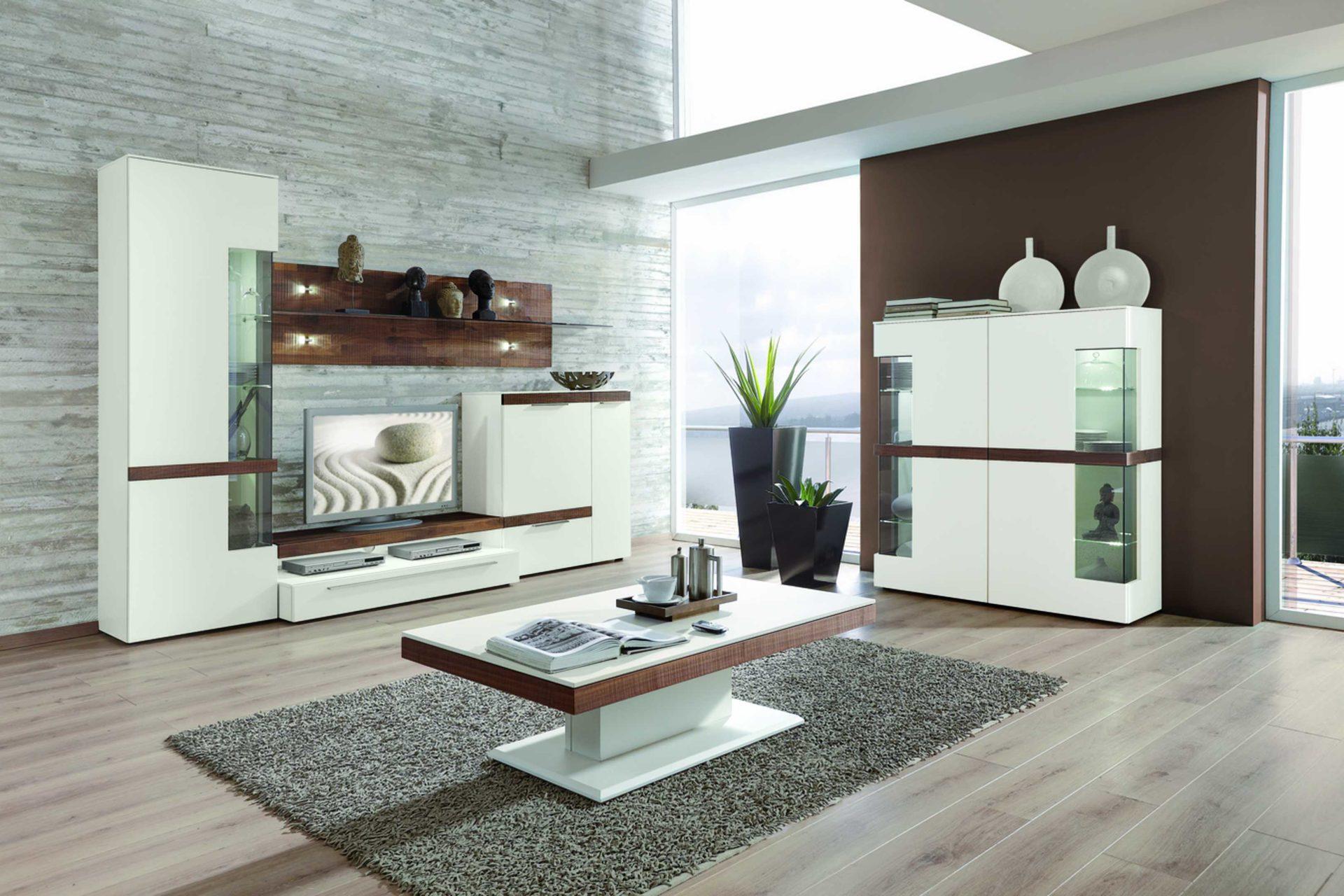 best great details moderne gwinner wohnwand with moderne weie wohnwnde with wohnwand gwinner