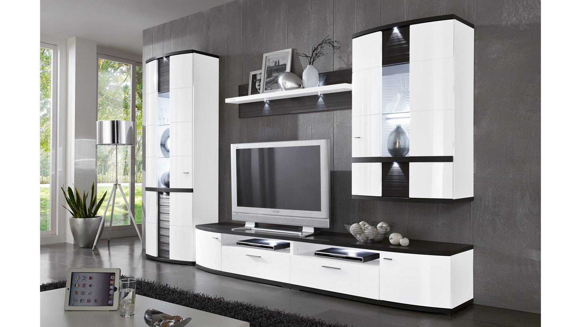 Attraktiv Moderne Wohnkombination   Wohnwand