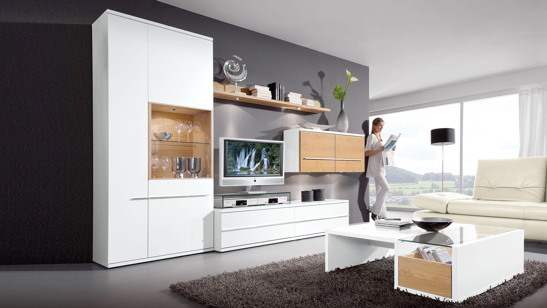 wohnzimmermöbel weiß holz | möbelideen - Wohnzimmer Schwarz Weiss Holz